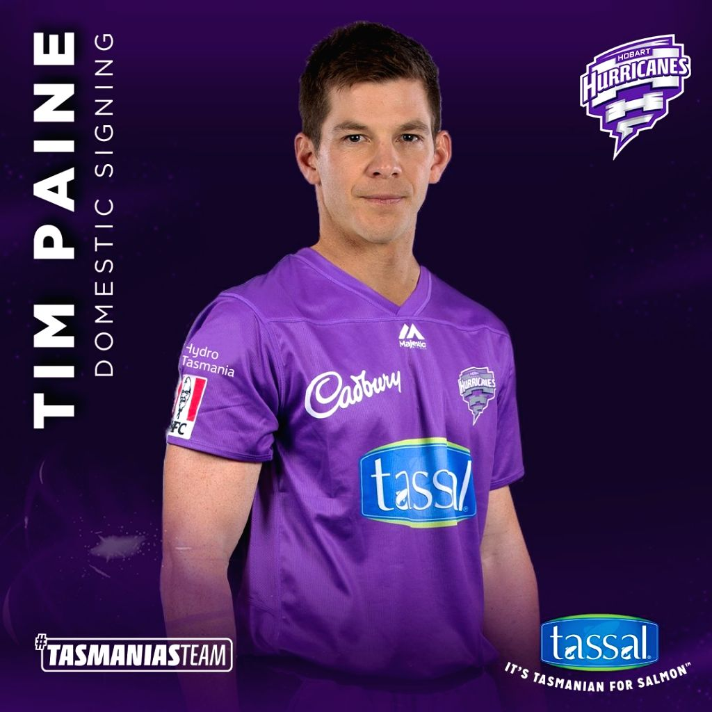 Tim Paine joins Hobart Hurricanes for BBL 10