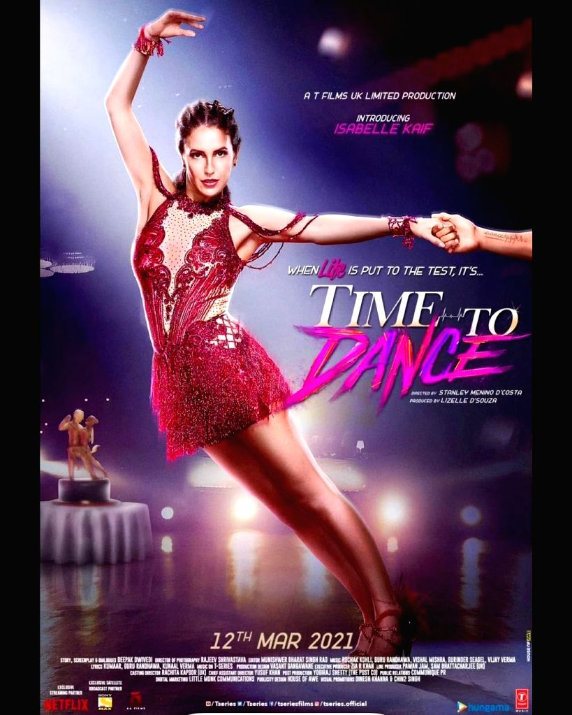 Time To Dance, starring Sooraj Pancholi and Isabelle Kaif, is all set for a digital release on March 12. Sooraj made the announcement on Instagram, sharing a poster of the film featuring him with ...
