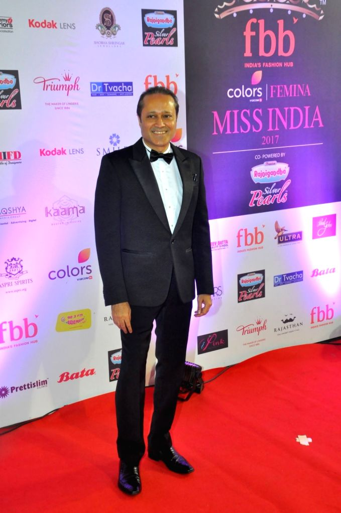 Times Group MD Vineet Jain during the grand finale of fbb Femina Miss India 2017 in Mumbai, on June 25, 2017. - Vineet Jain