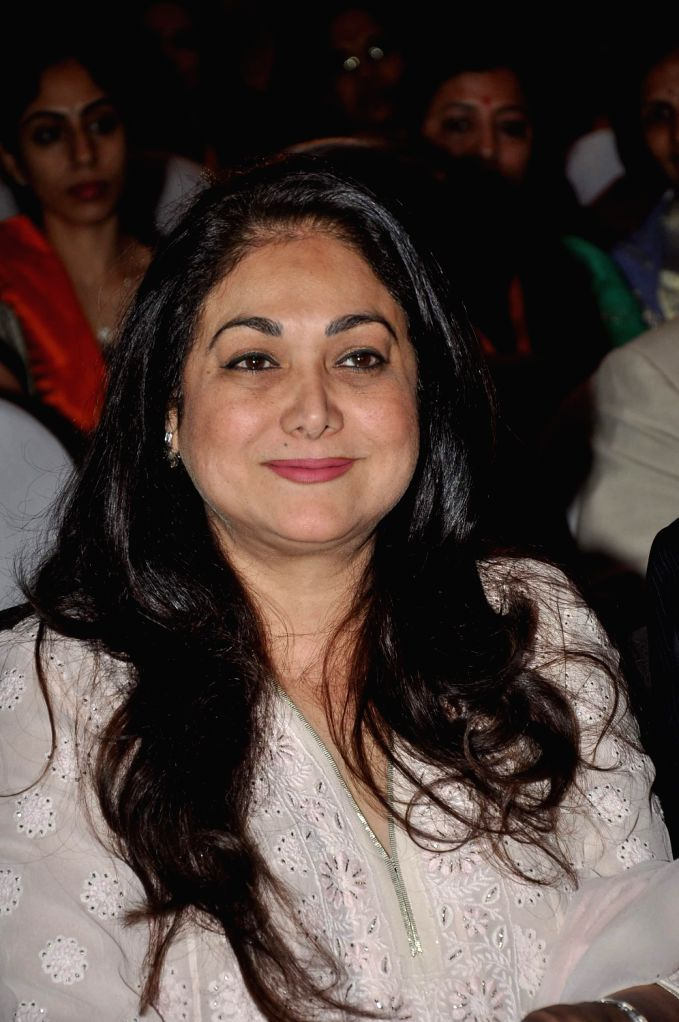 Tina Ambani, wife of Anil Ambani, chairman of Anil Dhirubhai Ambani Group during the first ever International Congress on Menopause in India on Challenges in Women's Health - New Dimensions in .. - Dhirubhai Ambani Group