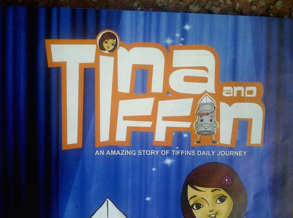 `Tina and Tiffin` - a comic book launched on the Mumbai dabbawalas who ferry thousands of tiffin boxes across the city of Mumbai.
