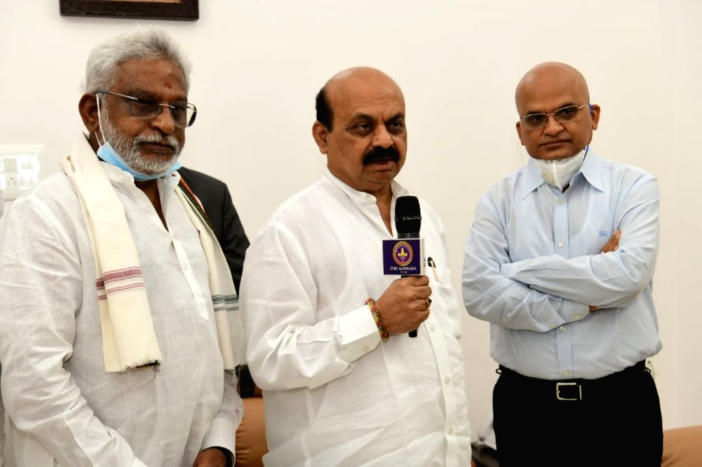 Tirupathi Tirumala Devasthanams invite K'taka CM Bommai for the launch of Hindi, Kannada SVBC channels