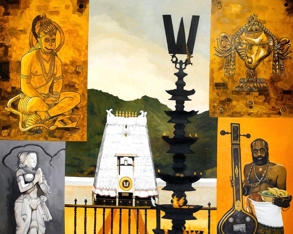 :Tirupati by Sanjay Bhattacharya.