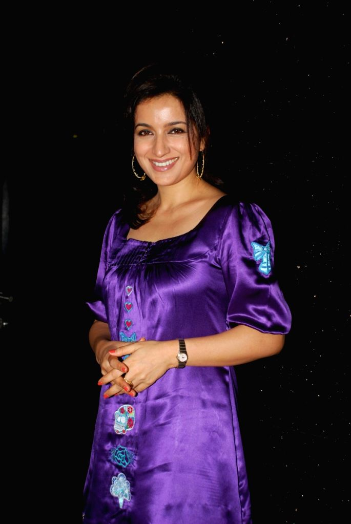 "Tisca Chopra at special screening of movie ""99"" at PVR. - Tisca Chopra"