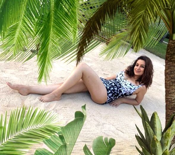 Tisca Chopra is making the most of indoors. - Tisca Chopra