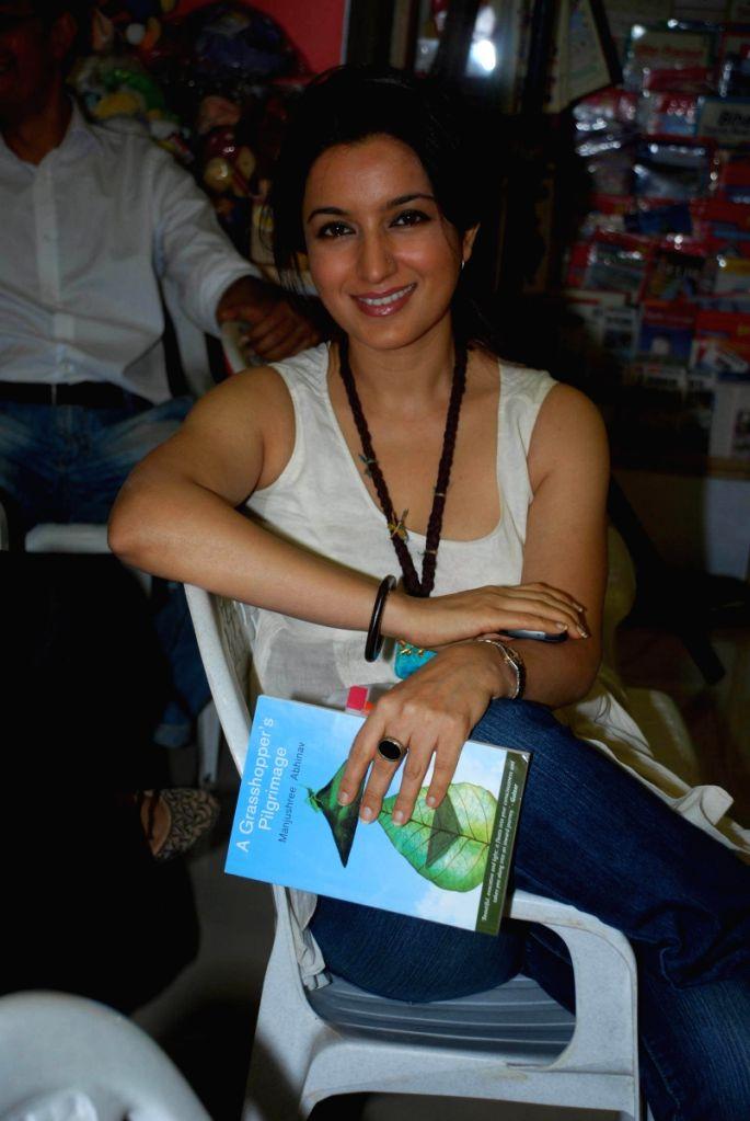 Tisca Chopra launches Manjushree Abhinav's Book.
