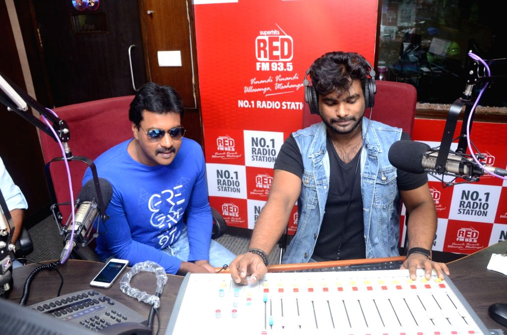 Title song launch of film Jakkanna at 93.5 Red FM.
