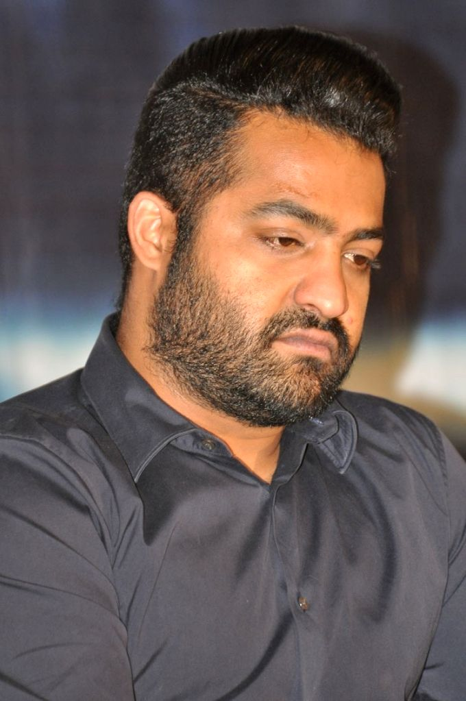 Title song releasing function of Telugu film Nannaku Prematho in Hyderabad on Jan. 16, 2016.