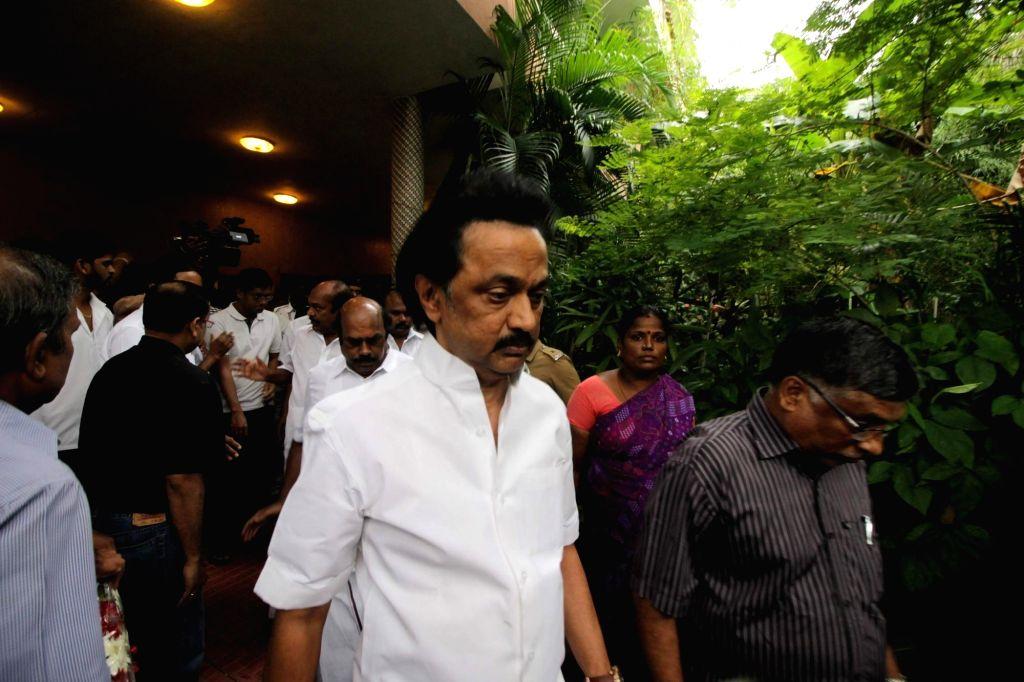 TN Assembly: DMK MLAs wear masks with slogan against NEET
