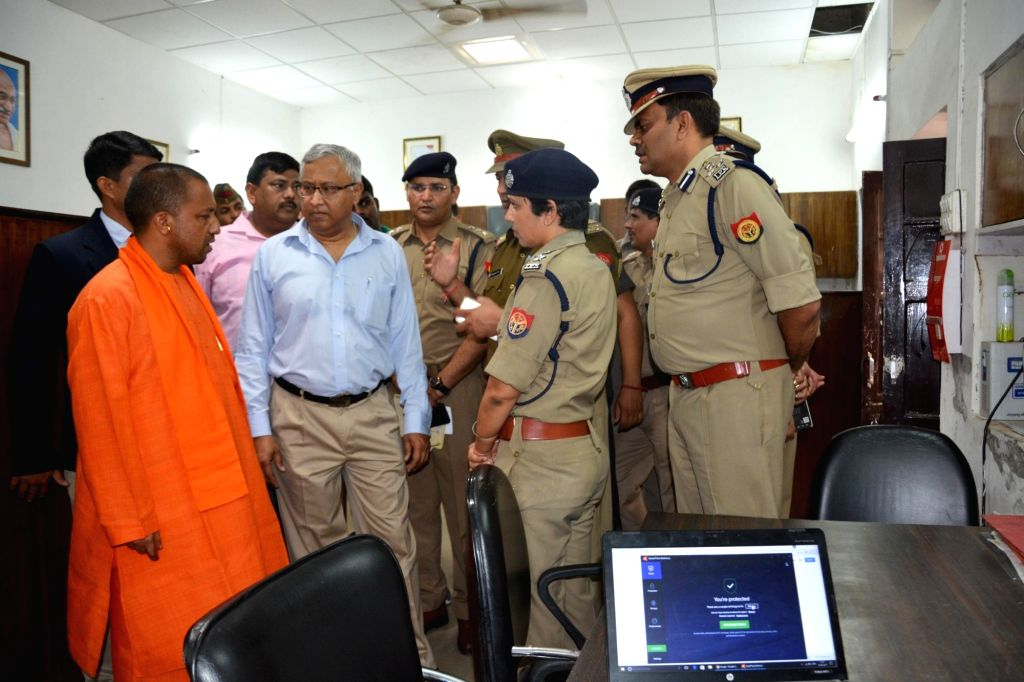 To brace up the deteriorating law and order situation in the state, a meeting of top officials held at Chief Minister Yogi Adityanath's residence to implement the Police Commissioner system in the state. - Yogi Adityanat