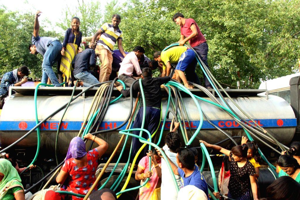 DJB deploys 1,077 water tankers to deal with Delhi's peak summer ...