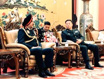 To foster friendly relations between India and China, the Northern Army Commander Lieutenant General Ranbir Singh led a military delegation to China and held talks with Generals of the People's Liberation Army (PLA). Lt Gen Singh, who is five day vis - Singh