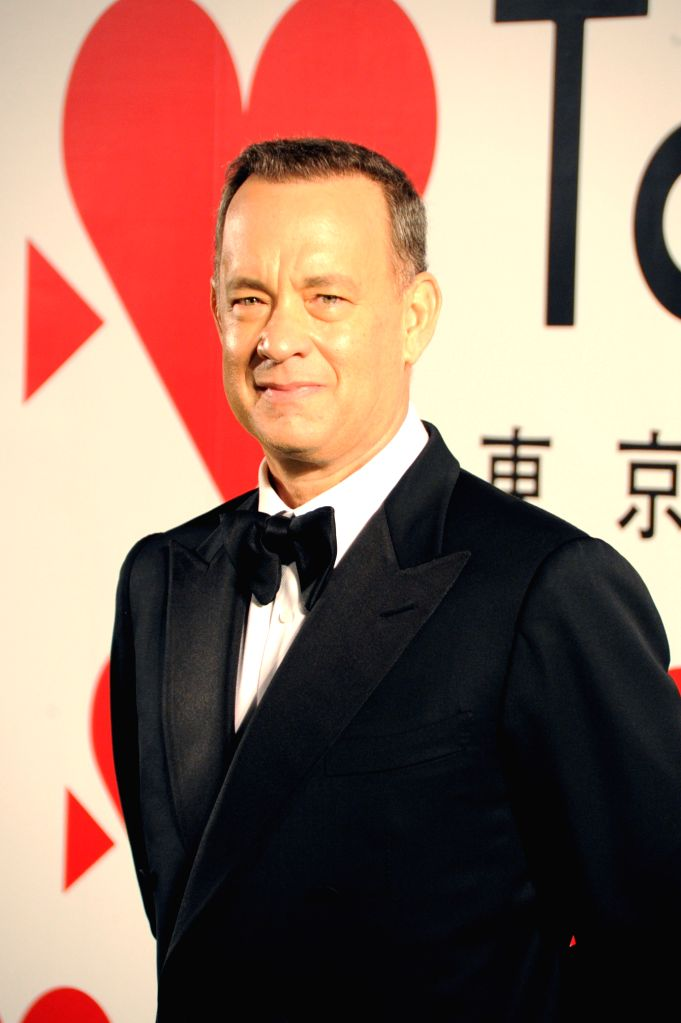 TOKTO, Oct. 17, 2013 (Xinhua) -- U.S. actor Tom Hanks attends the photo session during the opening ceremony of the 26th Tokyo International Film Festival in Tokyo, Japan, Oct. 17, 2013. (Xinhua) - Tom Hanks