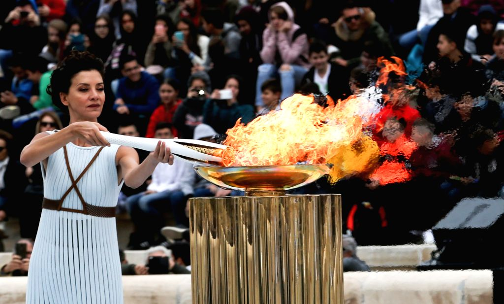 Tokyo, March 29 (IANS) The Olympic flame will be displayed in Fukushima for a month before being kept in Tokyo, local reports said on Sunday.