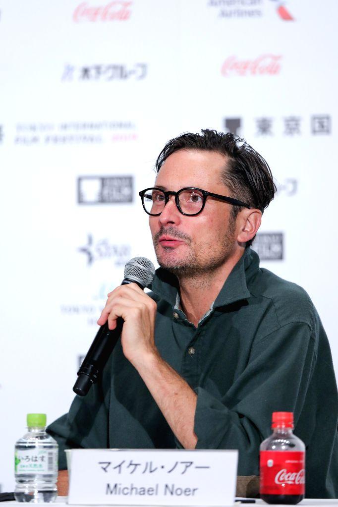 TOKYO, Oct. 29, 2019 - Jury member, director Michael Noer speaks at a press conference during the 32nd Tokyo International Film Festival in Tokyo, Japan, Oct. 29, 2019. - Michael Noer