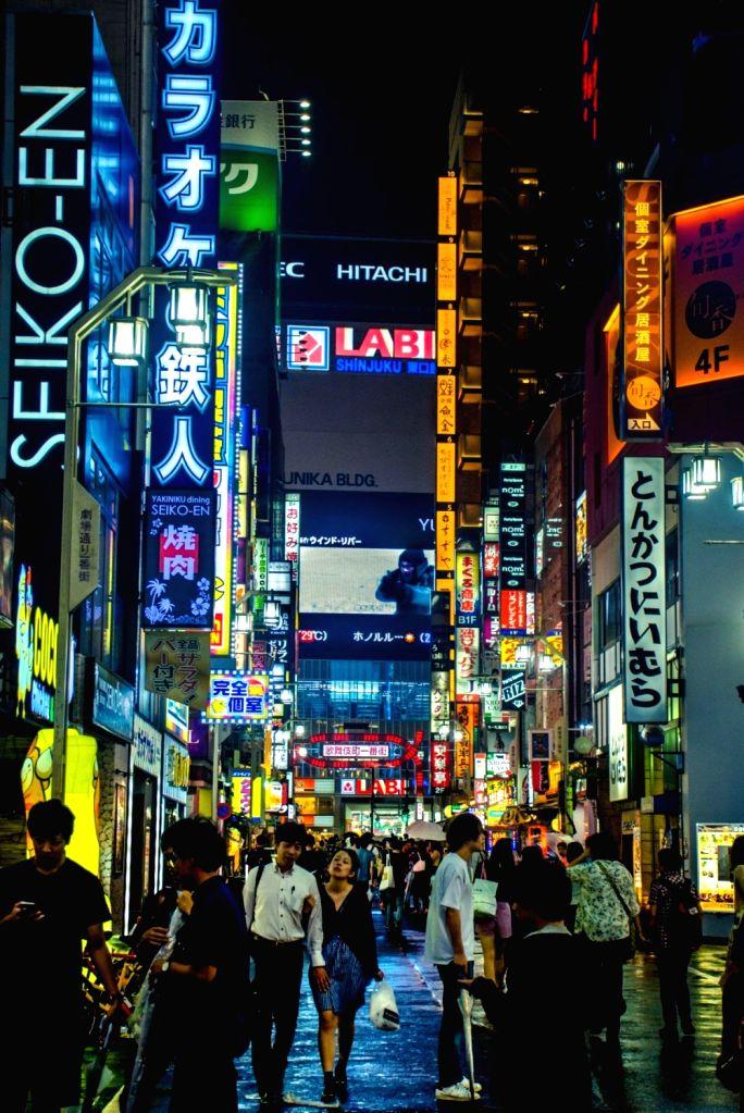 """Tokyos's Neon City Shinjuku"" by Rishabh Kandari. (Photo Source: Japan Foundation)"