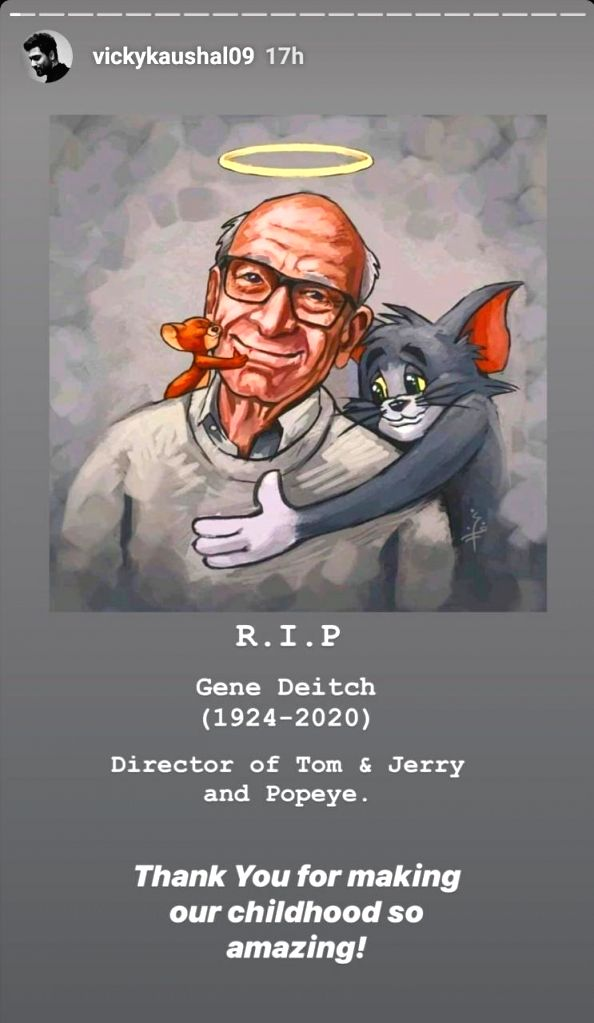 Tom And Jerry' helmer Gene Deitch made childhood amazing, awesome: Bollywood.