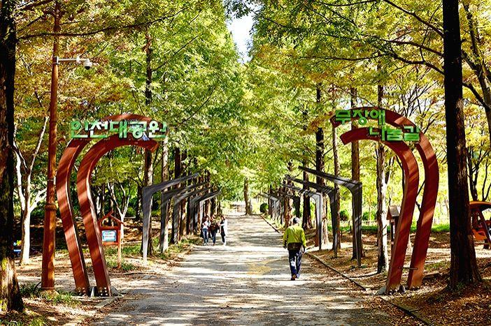 Top five attractions in South Korea's Incheon.