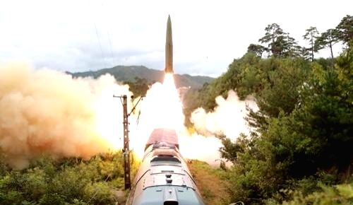 Top nuke envoys of S. Korea, U.S. discuss N.K. missile launch over phone on Tuesday September. 28, 2021.