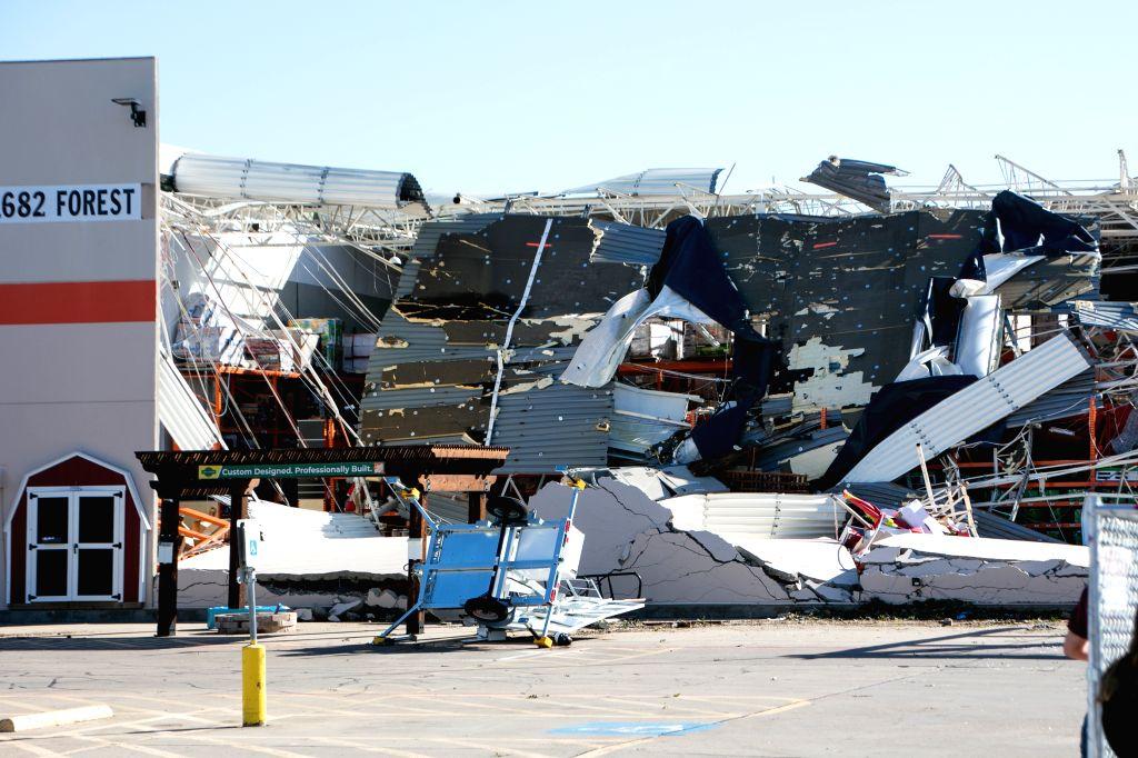 Tornadoes kill 6 in Mississippi