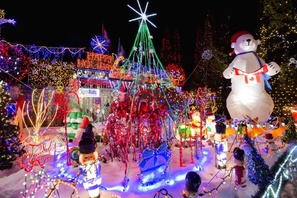 Christmas In Toronto Canada.Canada Toronto Christmas Lights