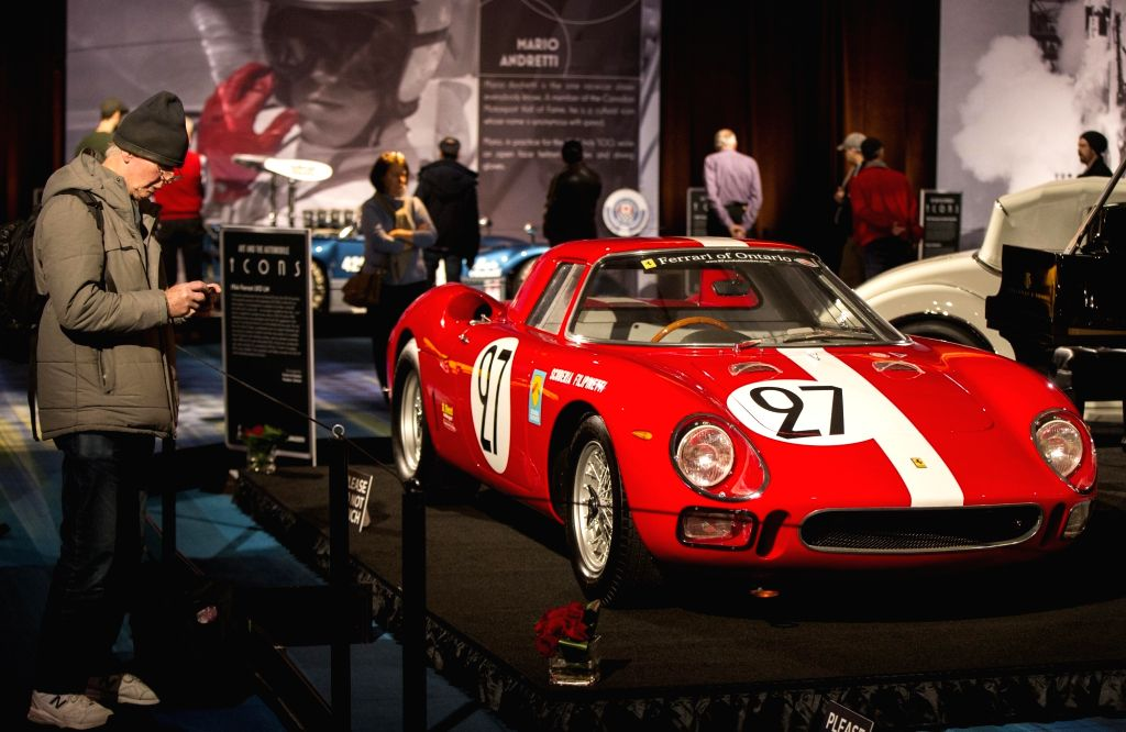 TORONTO, Feb. 21, 2019 - A 1964 Ferrari 250 LM is seen during the Art and the Automobile exhibition of the 2019 Canadian International Auto Show (CIAS) at the Metro Toronto Convention Center in ...