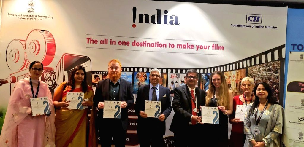 Toronto: High Commissioner of India to Canada, Vikas Swarup at the inauguration of the India Pavilion at the 44th Toronto International Film Festival (TIFF) in Toronto, on Sep 5, 2019. The pavilion will showcase Indian cinema in the overseas market a