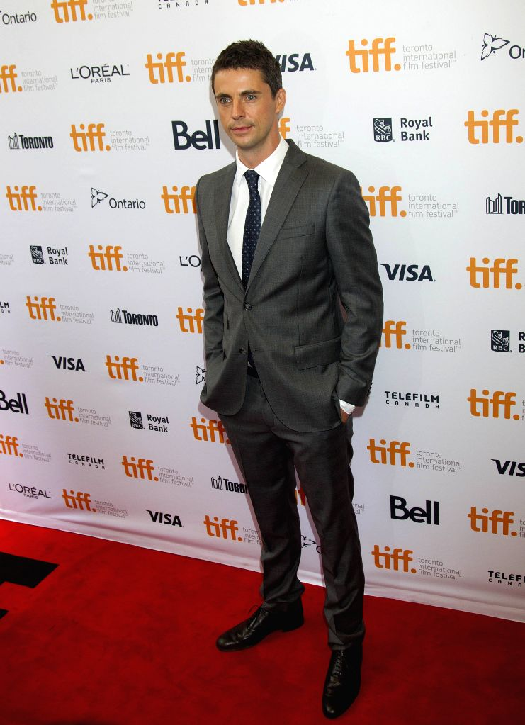 "Actor Matthew Goode poses for photos before the Canadian premiere of the film ""The Imitation Game"" at Princess of Wales Theater during the 39th Toronto .. - Matthew Goode"