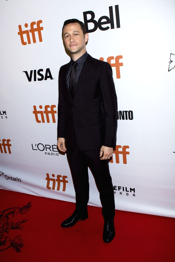 "TORONTO, Sept. 10, 2016 - Actor Joseph Gordon-Levitt poses for photos before the world premiere of the film ""Snowden"" at Roy Thomson Hall during the 41st Toronto International Film Festival ... - Joseph Gordon-Levitt"