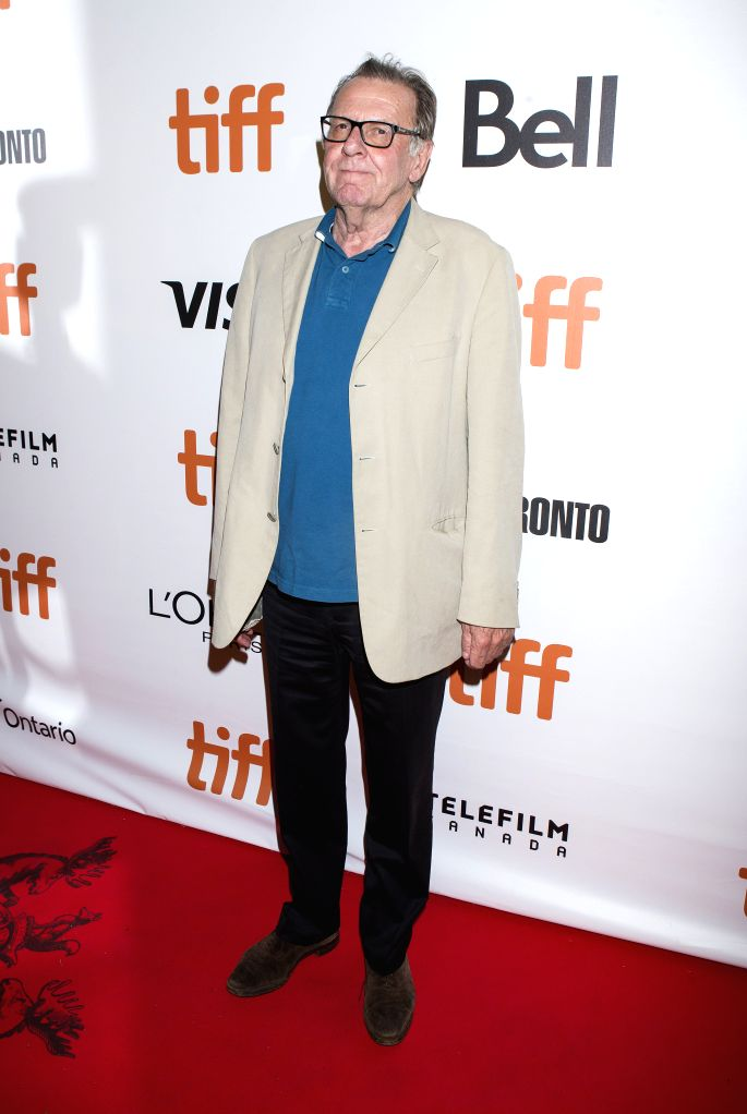 """TORONTO, Sept. 10, 2016 - Actor Tom Wilkinson poses for photos before the world premiere of the film """"Snowden"""" at Roy Thomson Hall during the 41st Toronto International Film Festival in ... - Tom Wilkinson"""