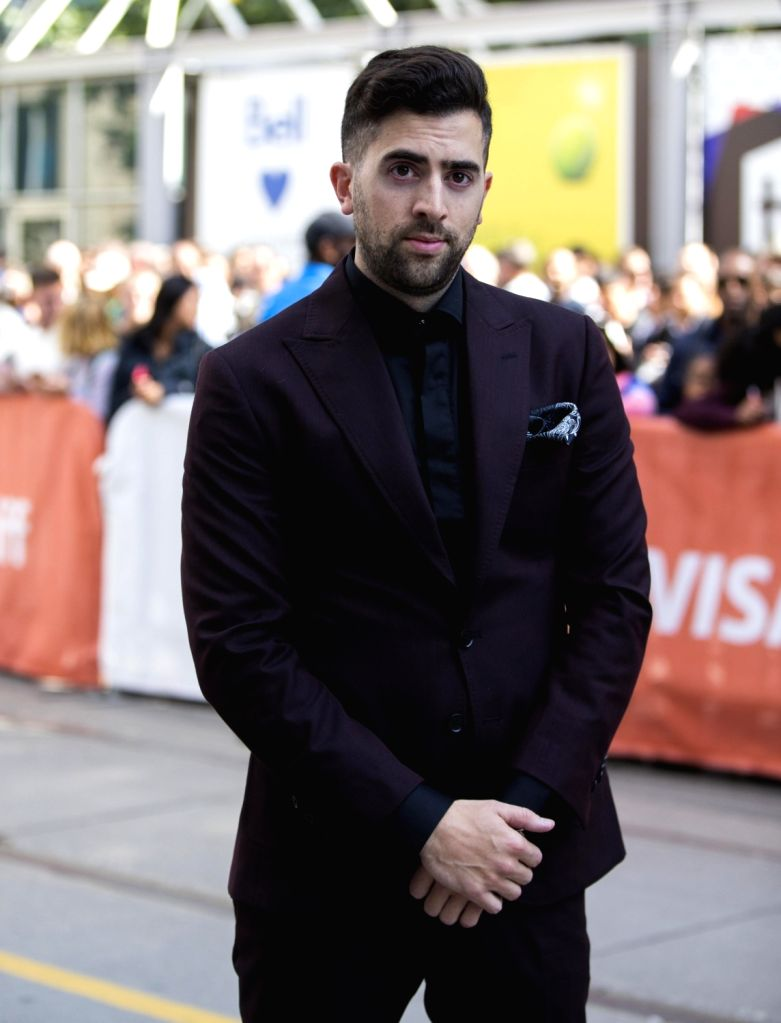 "TORONTO, Sept. 10, 2017 - Director Sean Menard attends the world premiere of the documentary ""The Carter Effect"" at Princess of Wales Theatre during the 2017 Toronto International Film ..."