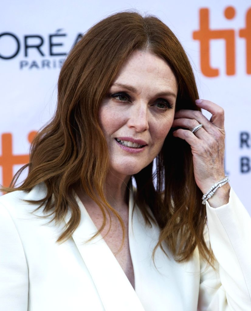 """TORONTO, Sept. 10, 2017 - Julianne Moore attends the North American premiere of the film """"Suburbicon"""" at Princess of Wales Theatre during the 2017 Toronto International Film Festival in ..."""