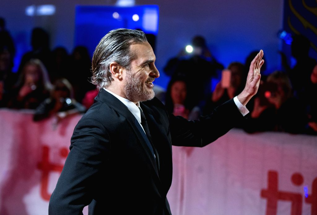"TORONTO, Sept. 10, 2019 - Actor Joaquin Phoenix attends the North American premiere of the film ""Joker"" at Roy Thomson Hall during the 2019 Toronto International Film Festival (TIFF) in ... - Joaquin Phoenix"