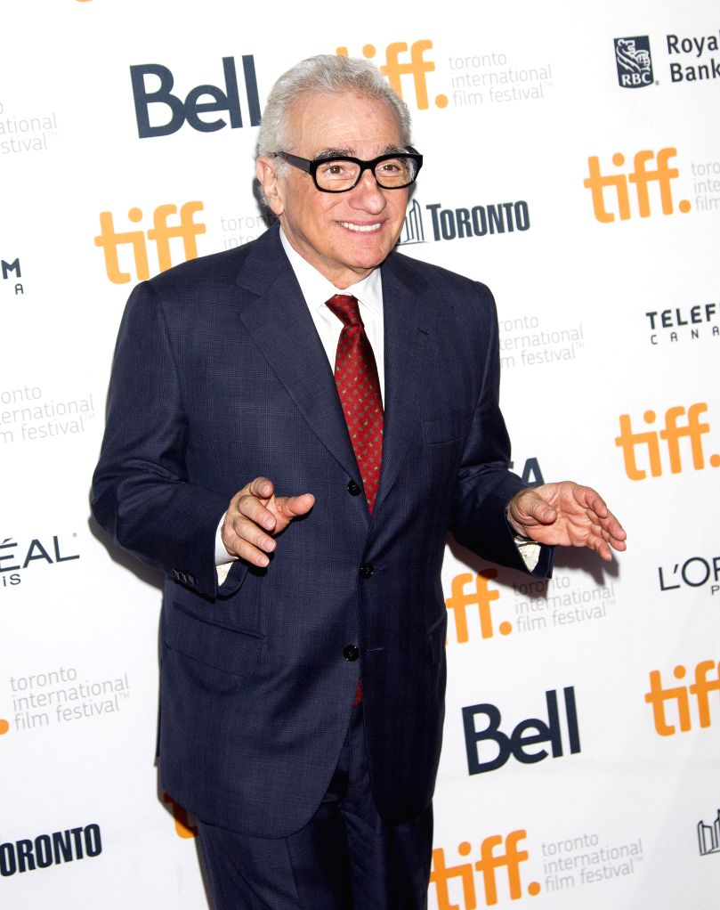 "Director Martin Scorsese arrives for the world premiere of the film ""Revenge of The Green Dragons"" at Ryerson Theater during the 39th Toronto ..."