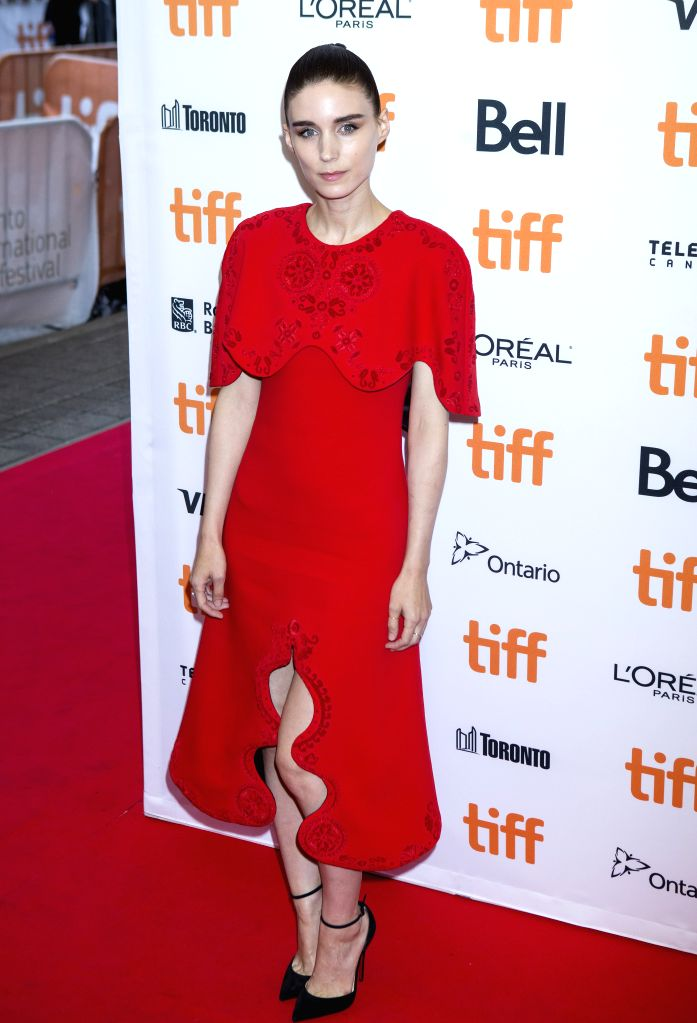 """TORONTO, Sept. 11, 2016 - Actress Rooney Mara poses for photos before the world premiere of the film """"Lion"""" at Princess of Wales Theatre during the 41st Toronto International Film Festival ... - Rooney Mara"""