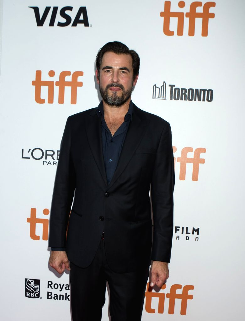 """TORONTO, Sept. 11, 2019 - Actor Claes Bang poses for photos before the North American premiere of the film """"The Burnt Orange Heresy"""" at Roy Thomson Hall during the 2019 Toronto ... - Claes Bang"""