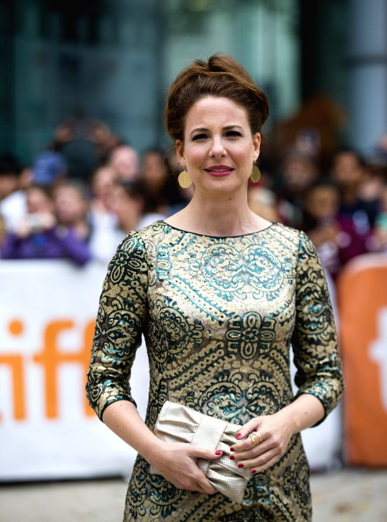 """Actress Robin Weigert arrives for the world premiere of the film """"Pawn Sacrifice"""" at Roy Thomson Hall during the 39th Toronto International Film Festival - Robin Weigert"""