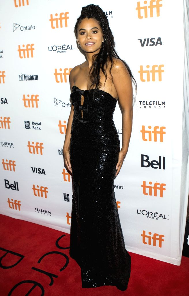"TORONTO, Sept. 12, 2019 - Actress Zazie Beetz poses for photos before the world premiere of the film ""Lucy in the Sky"" at Princess of Wales Theatre during the 2019 Toronto International ... - Zazie Beetz"