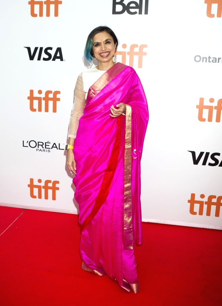 """TORONTO, Sept. 13, 2019 - Director Shonali Bose poses for photos before the world premiere of the film """"The Sky Is Pink"""" at Roy Thomson Hall during the 2019 Toronto International Film ... - Shonali Bose"""