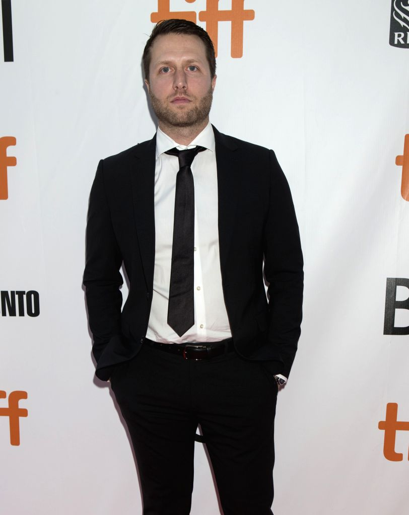 """TORONTO, Sept. 15, 2018 - Direcor Matthew Heineman poses for photos before the world premiere of the film """"A Private War"""" at Roy Thomson Hall during the 2018 Toronto International Film ..."""