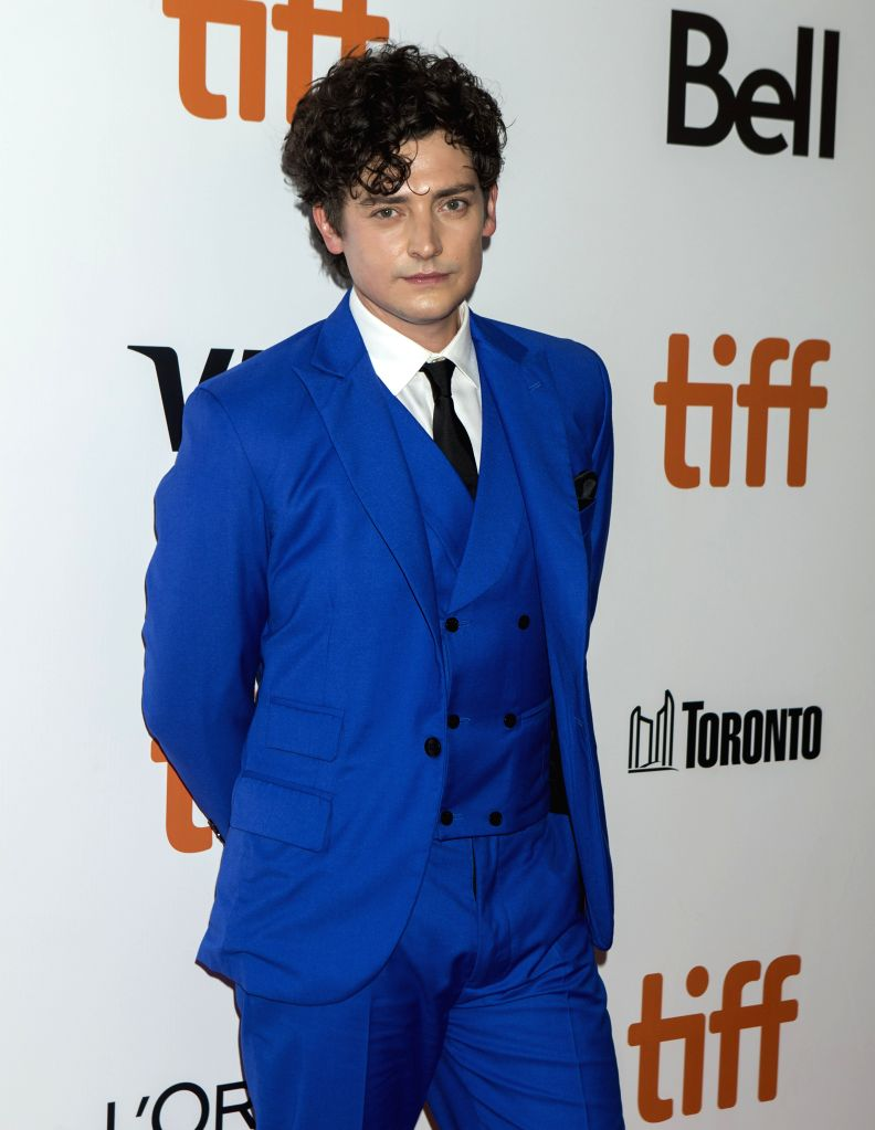 """TORONTO, Sept. 15, 2019 - Actor Aneurin Barnard poses for photos before the world premiere of the film """"Radioactive"""" at Roy Thomson Hall during the 2019 Toronto International Film ... - Aneurin Barnard"""