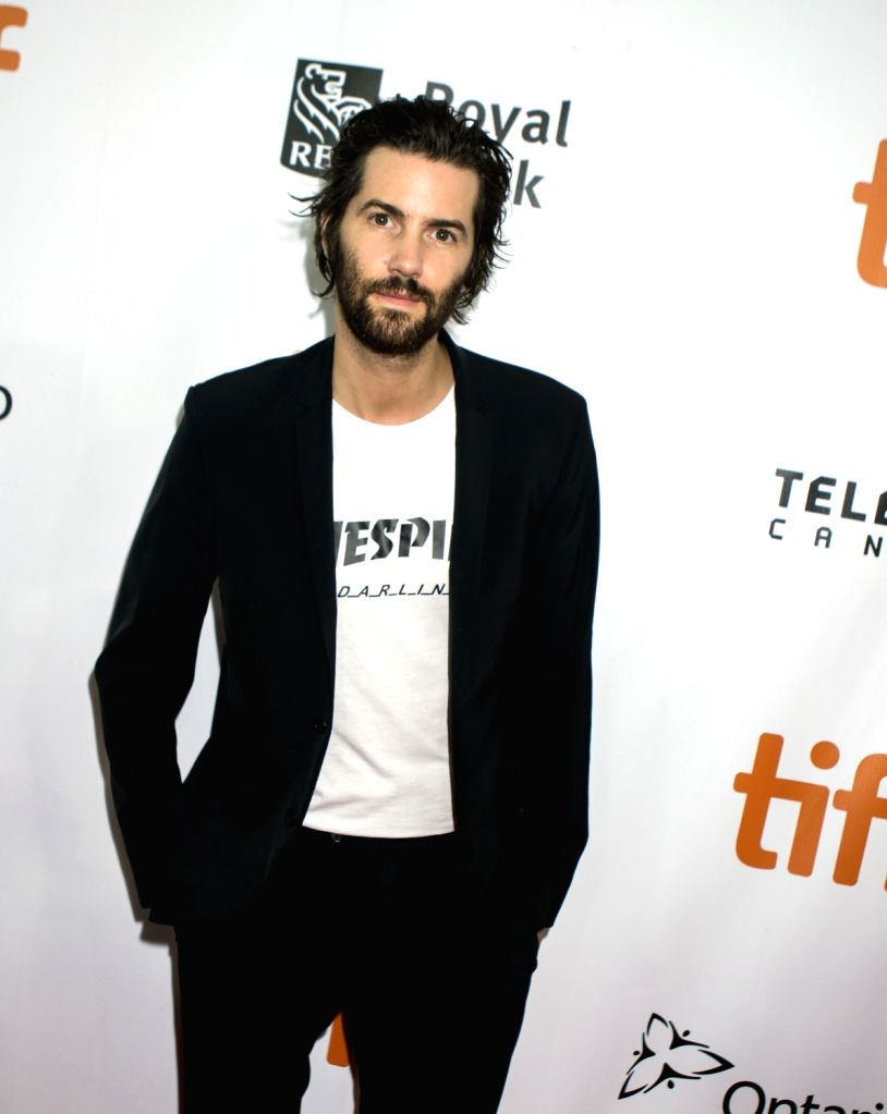 "TORONTO, Sept. 16, 2018 - Actor Jim Sturgess poses for photos before the world premiere of the closing film  ""Jeremiah Terminator Leroy"" at Roy Thomson Hall during the 2018 Toronto ... - Jim Sturgess"