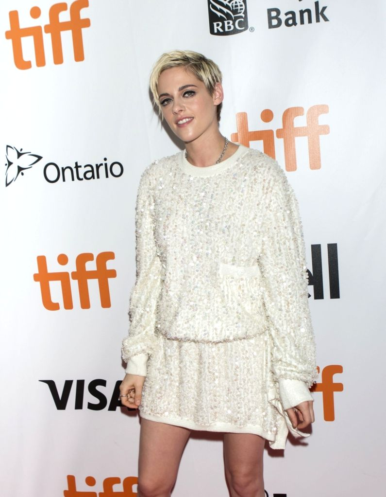 "TORONTO, Sept. 16, 2018 - Actress Kristen Stewart poses for photos before the world premiere of the closing film  ""Jeremiah Terminator Leroy"" at Roy Thomson Hall during the 2018 Toronto ... - Kristen Stewart"