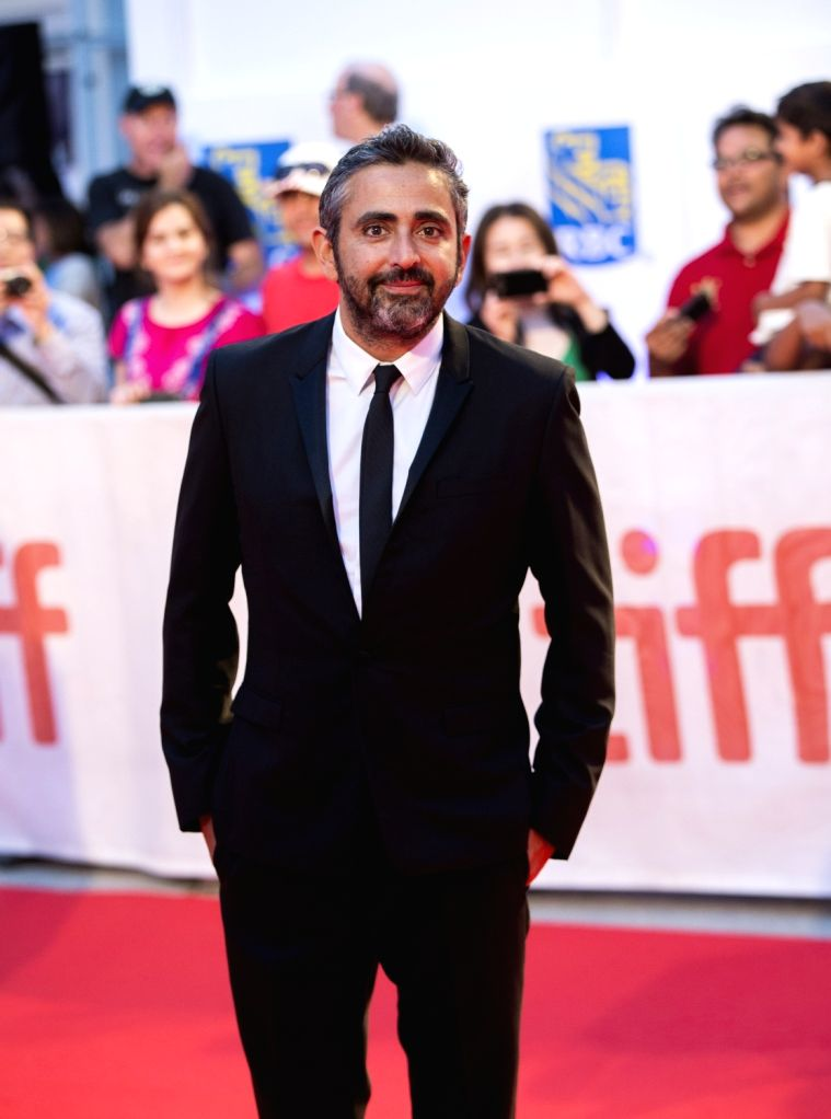 "TORONTO, Sept. 17, 2017 - Director Eric Toledano attends the world premiere of the film ""C'est la vie!"" at Roy Thomson Hall during the 2017 Toronto International Film Festival in Toronto, ..."