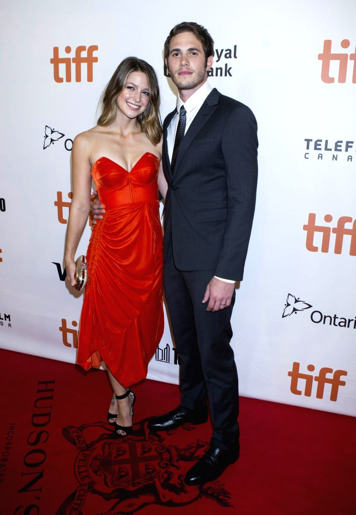 "TORONTO, Sept. 18, 2016 - Actor Blake Jenner(R) and wife Melissa Benoist pose for photos before the world premiere of the closing film ""The Edge of Seventeen"" at Roy Thomson Hall during the ... - Blake Jenner"