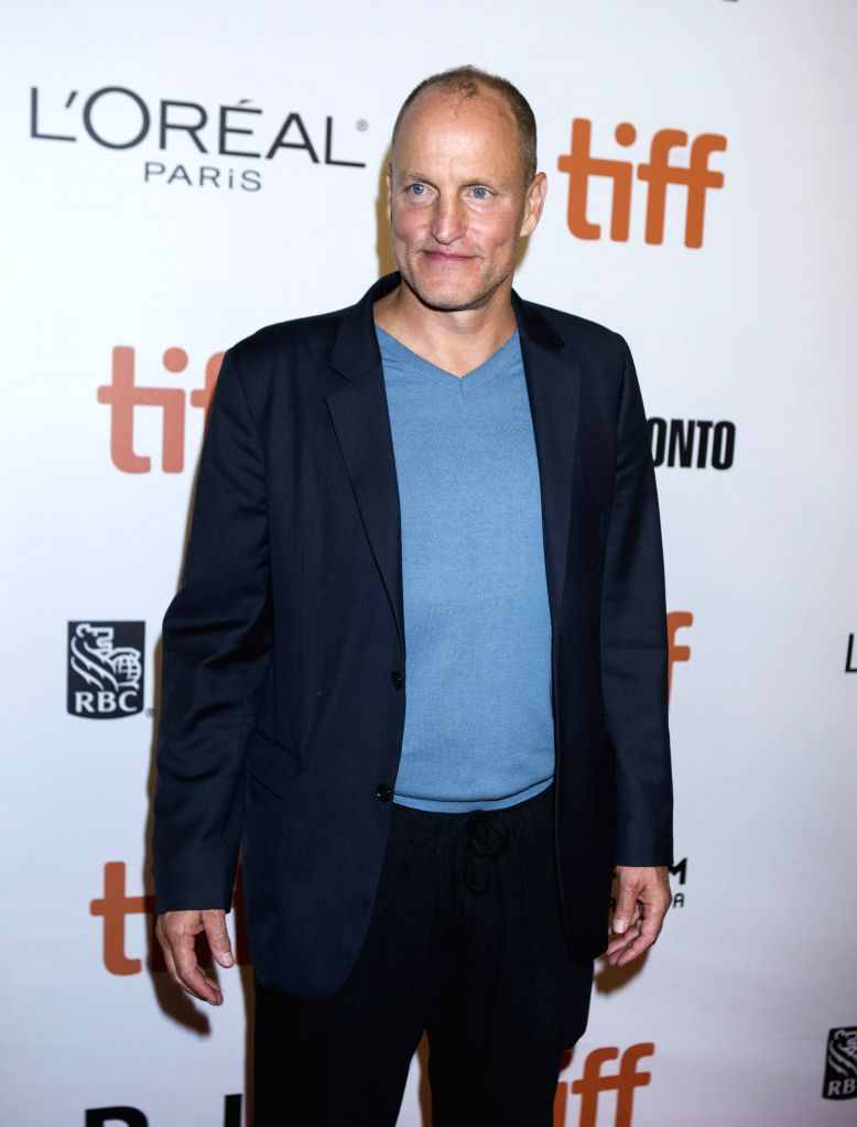 "TORONTO, Sept. 18, 2016 - Actor Woody Harrelson poses for photos before the world premiere of the closing film ""The Edge of Seventeen"" at Roy Thomson Hall during the 41st Toronto ... - Woody Harrelson"