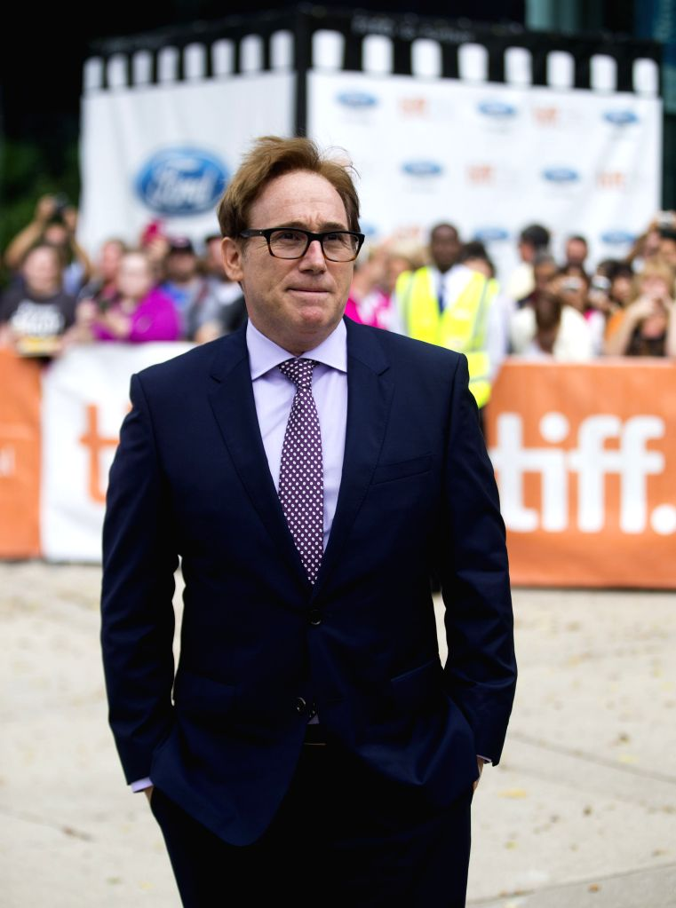 "Director Mike Binder arrives for the premiere of the film ""Black And White"" at Roy Thomson Hall during the 39th Toronto International Film Festival in ..."