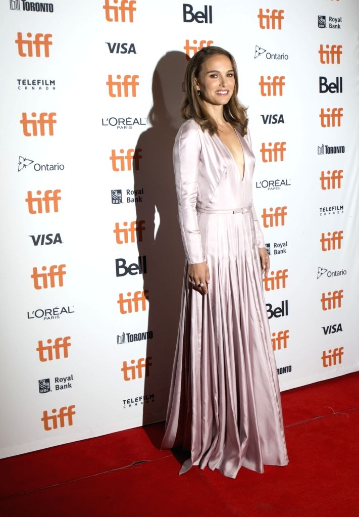 """TORONTO, Sept. 7, 2018 - Actress Natalie Portman poses for photos at the American premiere of the film """"Vox Lux"""" at Princess of Wales Theatre during the 2018 Toronto International Film ... - Natalie Portman"""