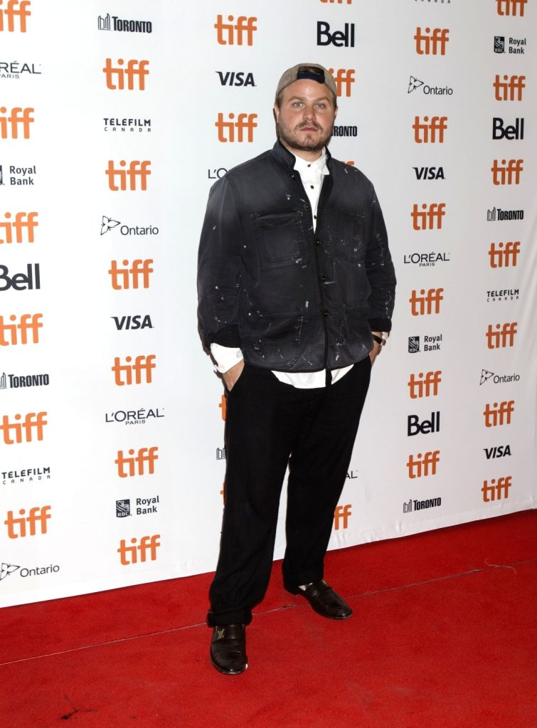 """TORONTO, Sept. 7, 2018 - Director Brady Corbet poses for photos at the American premiere of the film """"Vox Lux"""" at Princess of Wales Theatre during the 2018 Toronto International Film ..."""