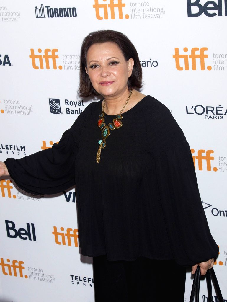"Actress Adriana Barraza arrives for the premiere of the film ""Cake"" at Elgin Theatre during the 39th Toronto International Film Festival in Toronto, ... - Adriana Barraza"